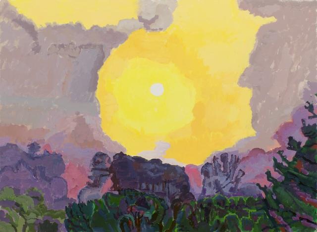 , 'White Sun,' 2015, New York Studio School