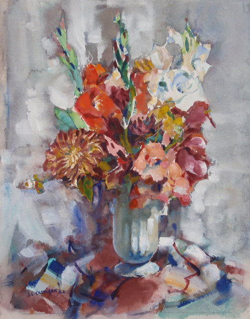 , 'Flower Arrangement,' 1966, Caldwell Gallery Hudson
