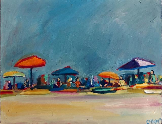 Tim Collom, 'Grey-Blue Beach', 2019, Tim Collom Gallery