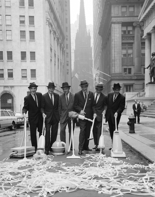 , 'Clean New York Campaign, Wall Street,' ca. 1960, Staley-Wise Gallery