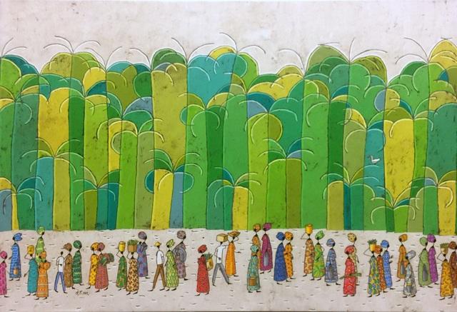 , 'Arusha Road,' 2016, Barnadas Huang