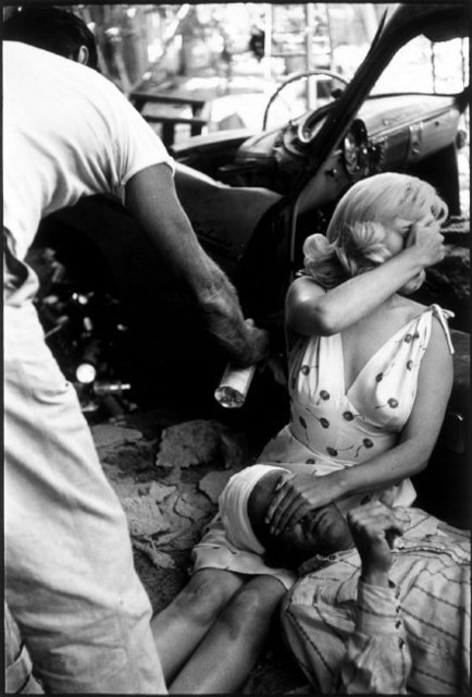 , 'Marilyn Monroe on the set of 'The Misfits'. Reno, Nevada. USA.,' 1960, Magnum Photos