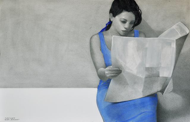 , 'Etude numero 6,' 2018, Hafez Gallery