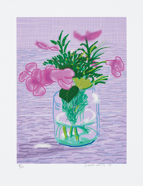 David Hockney, 'Untitled no. 329, from A Bigger Book: Art Edition A', 2010/2016, Phillips