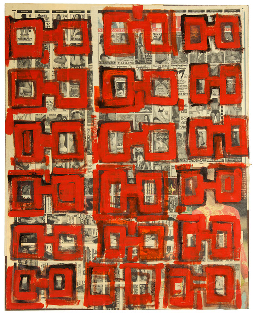 , 'No. 8 (Red) from Nixon Part II (Dr. K),' 2009, The Merchant House