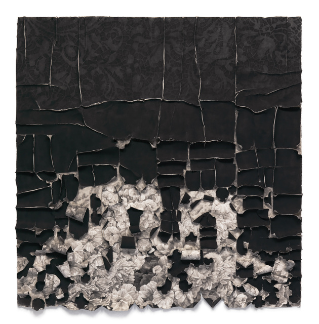 , 'Black Lace,' 2015, Von Lintel Gallery