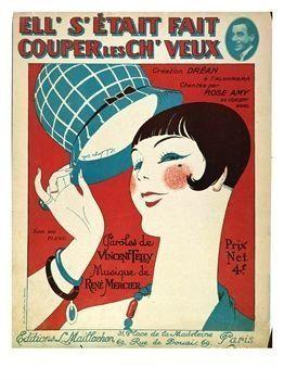 , 'Ell' s'était fait couper les ch'veux,' 1924, Les Arts Décoratifs