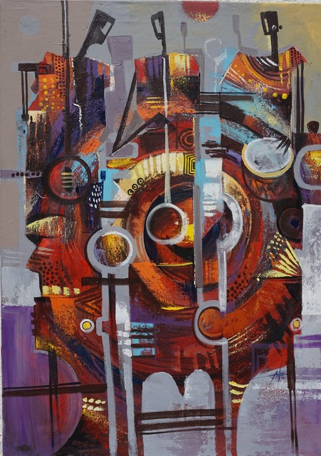 Godwin Adjei Sowah, 'Music Music', ca. 2016, TO LIVE IS TO CHOOSE
