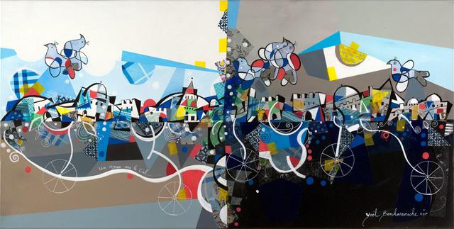 Yoël Benharrouche, 'Un voyage vers de ciel (Lacquer)', 2016, Eden Fine Art