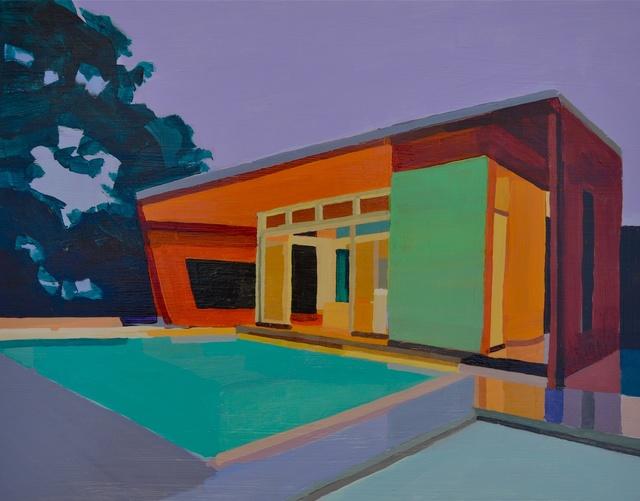 , 'Modern House, Lavender Sky,' 2009, Cynthia Corbett Gallery