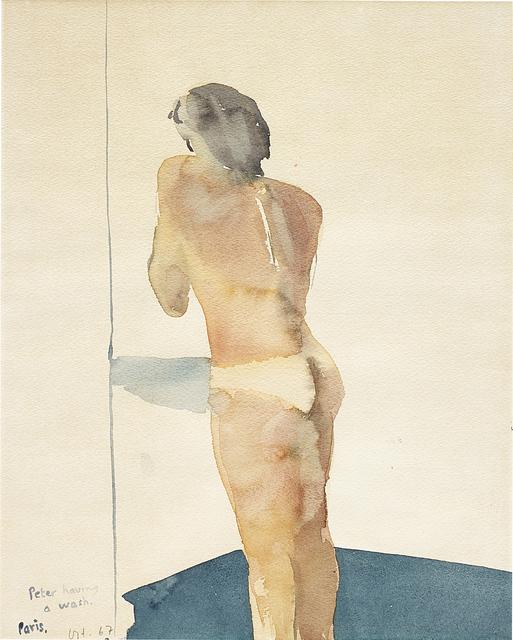 David Hockney, 'Peter having a wash', 1967, Phillips