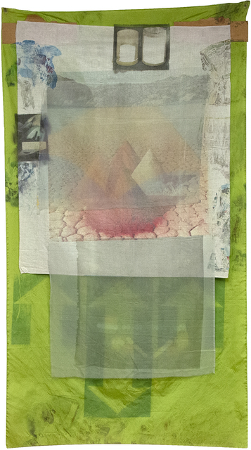 Robert Rauschenberg, 'Berm (Hoarfrost)', 1975, Heather James Fine Art