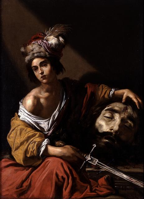 Claude Vignon, 'David with the Head of Goliath', 1620, Blanton Museum of Art