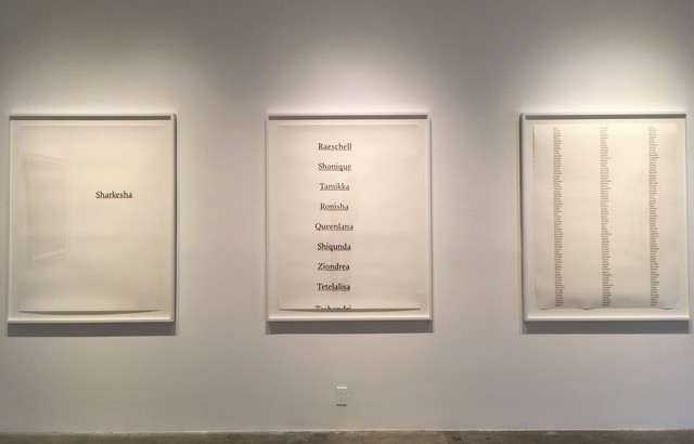 , 'Sovereignty, triptych, unique edition 2/3,' 2017, Luis De Jesus Los Angeles