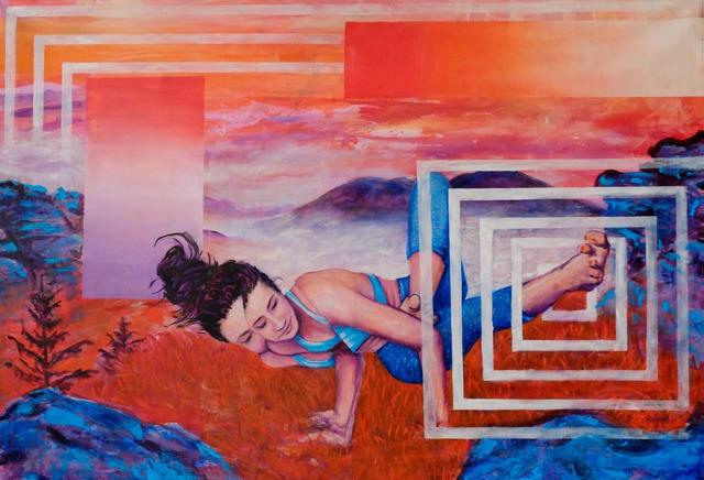 Daniel Döring, 'Floating balance', 2018, Galerie Makowski