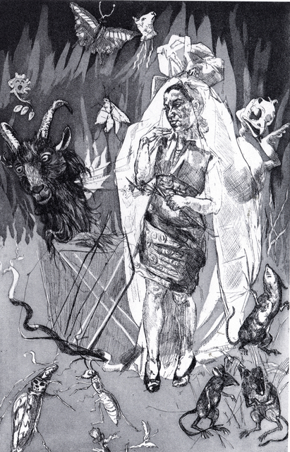 , 'Pendle Witches - Straw Burning,' 1996, Marlborough London