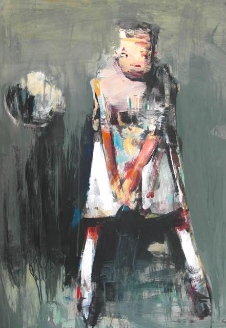 ", '""Football"" 5,' 2018, Krokin Gallery"