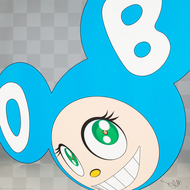 Takashi Murakami, 'And then and then and then and then and then (Aqua Blue)', 1999, Heritage Auctions