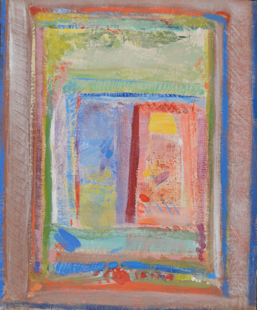 Robert Natkin, 'Interior', 1961, Painting, Oil on canvas, Caldwell Gallery Hudson