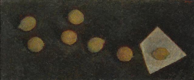 , 'Lemons on black,' 1961, Art4.ru