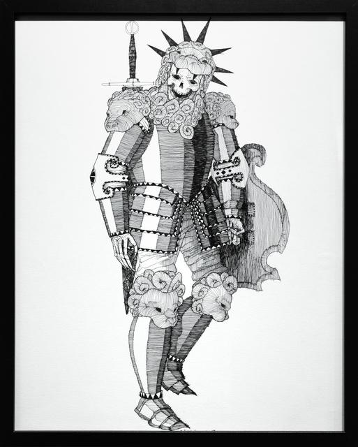 , 'Dead King 16 [10th Century Irish Lord],' 2018, Paradigm Gallery + Studio
