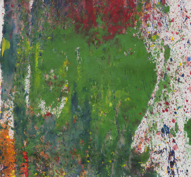 Shozo Shimamoto, 'Untitled-111', 2010, Whitestone Gallery