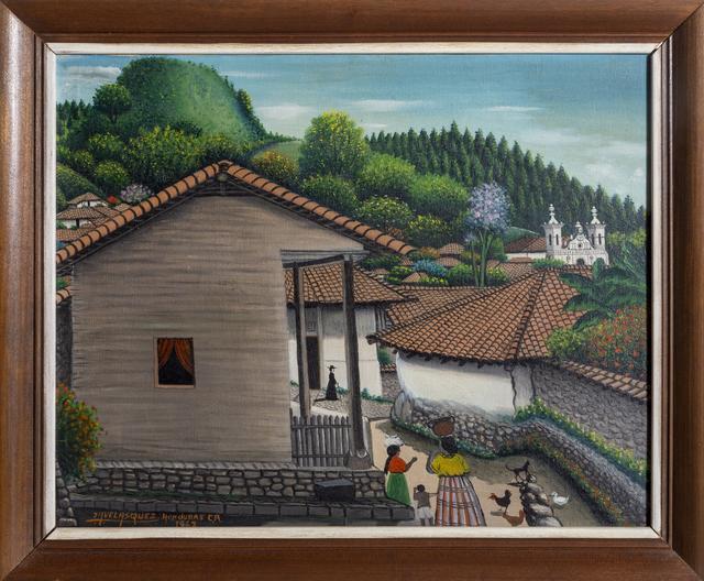José Antonio Velasquez, 'View from the House, San Antonio de Oriente', 1962, Painting, Oil on canvas, RoGallery