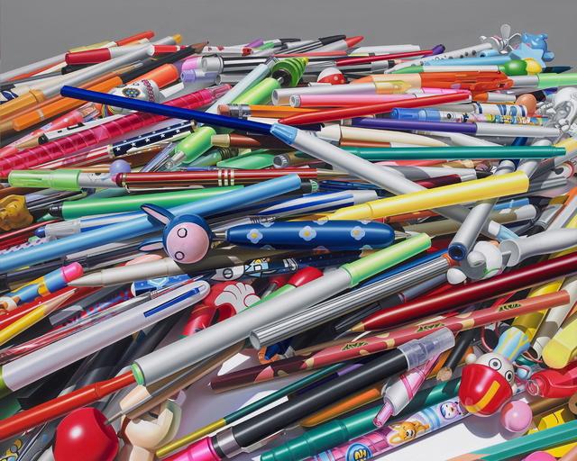 , 'Pens,' 2015, Leehwaik Gallery