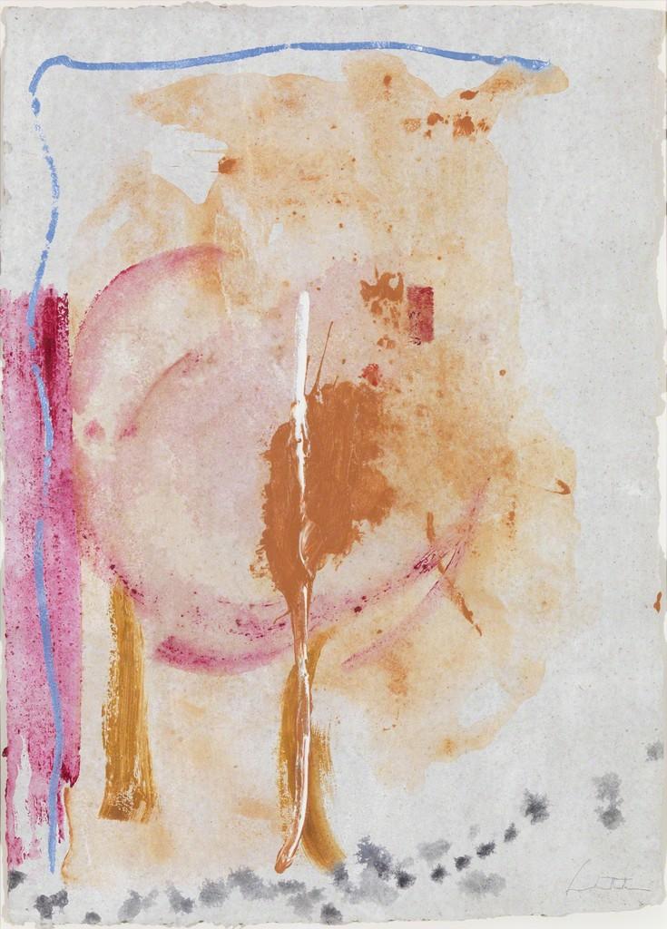 helen frankenthaler works on paper From phillips, helen frankenthaler, sure violet (1979), etching, aquatint and drypoint in colors, on tgl handmade paper, with full margins, 781 × 1092 cm.