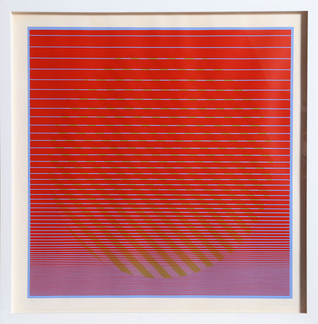Julian Stanczak, 'Rising No. 1 from Eight Variatnts', ca. 1970, RoGallery