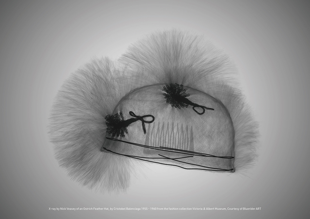 , 'Ostrich Feather Hat, by Cristobel Balenciaga 1955 - 1960 from the fashion collection Victoria & Albert Museum,' 2017, Bluerider ART