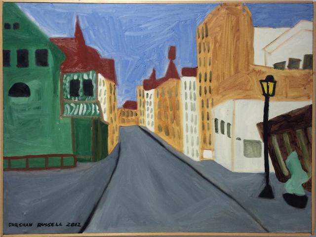 , 'A Street in Wittenberg,' 2012, Carrie Haddad Gallery