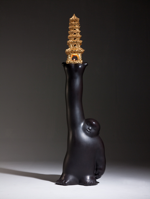 Li Chen, 'Aerial Pagoda', 2010, Sculpture, Bronze, Asia Art Center
