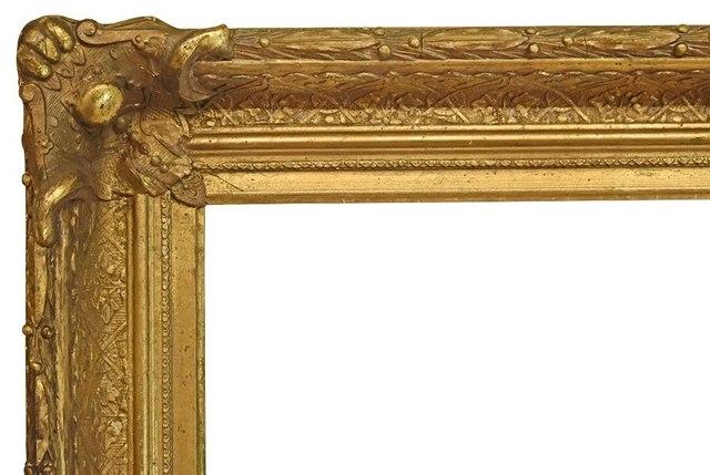 , 'American Victorian Gilt Frame, circa 1865-75 (14x22),' 1865-1875, Susquehanna Antique Company