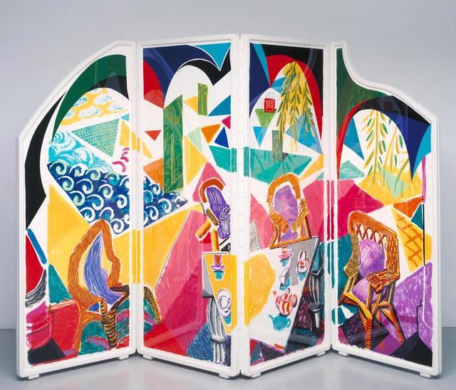 David Hockney, 'Caribbean Tea Time', 1987, Timothy Yarger Fine Art