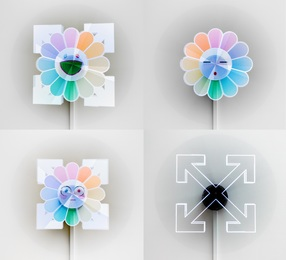 Illusion Arrows and Flower