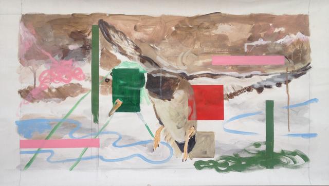 , 'La chasse (le tableau),' 2014, Galerie Thomas Bernard