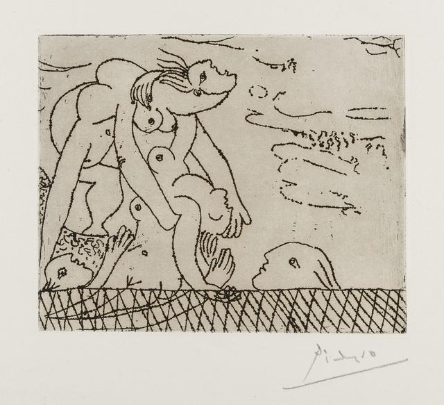 Pablo Picasso, 'Le Sauvetage de la Noyee I (Bloch 244; Baer 272)', 1932, Forum Auctions