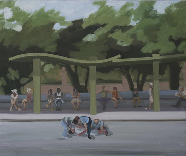 , 'Parada la 400,' 2017, El Apartamento
