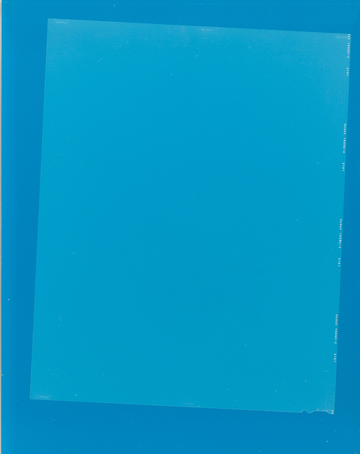 , 'After Matyushin's Guide to Color,' 2014, Martin Asbæk Gallery