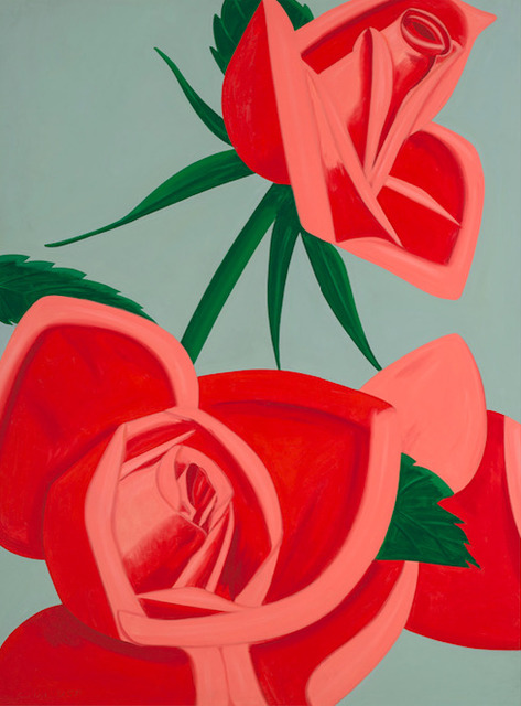 Alex Katz, 'Rose Bud', 2018, Dallas Collectors Club