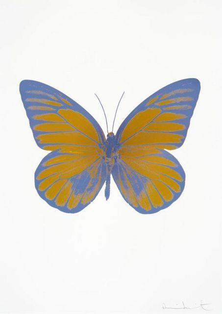 , 'The Souls I - Paradise Copper - Cornflower Blue - Cornflower Blue,' 2010, Samuel Owen Gallery