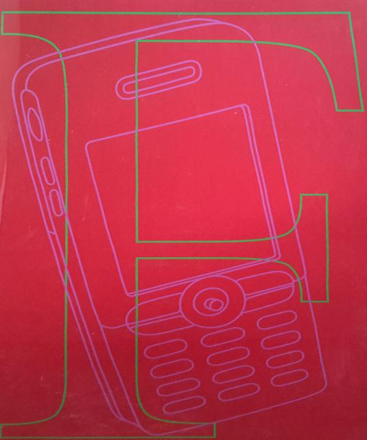 Michael Craig-Martin, 'F', 2007, Tanya Baxter Contemporary