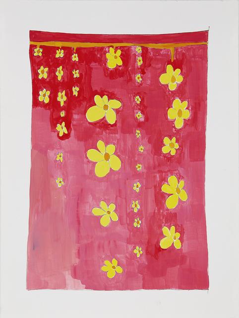 Joan Bankemper, 'Untitled #34 drawing from A Gardener's Diary', 2018, Nancy Hoffman Gallery
