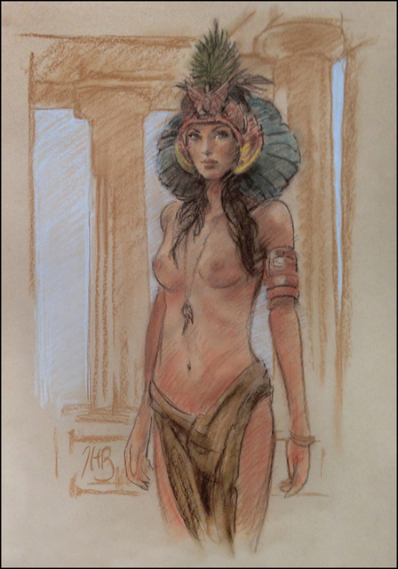 , 'Goddess of Eternity (Preliminary),' , IX Gallery