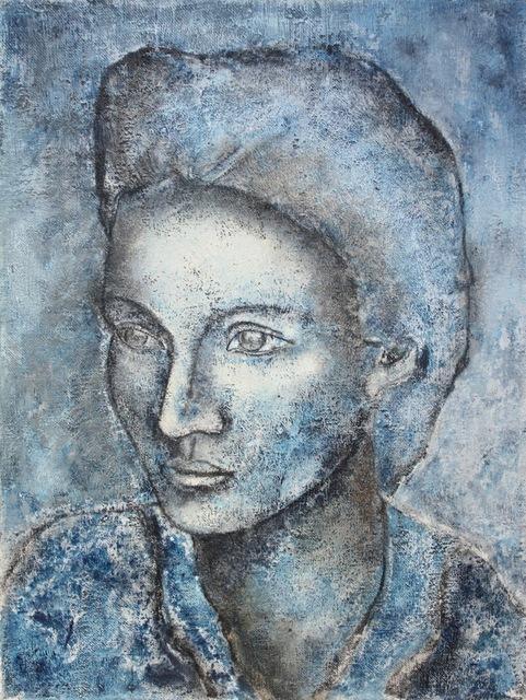 , 'Portrait In Blue,' 1997, White Court Art