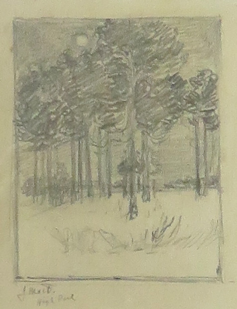 , 'High Park,' ca. 1910, Arctic Experience McNaught Gallery