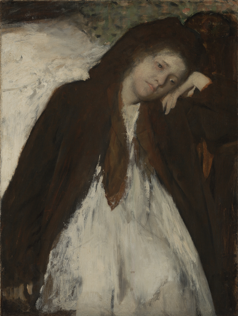 Edgar Degas, 'The Convalescent', 1872, J. Paul Getty Museum