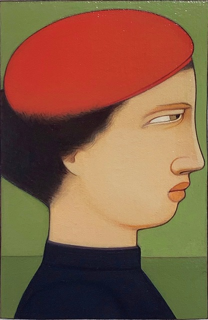 , 'Portrait: Woman in Red Cap,' 1991, Adelson Galleries