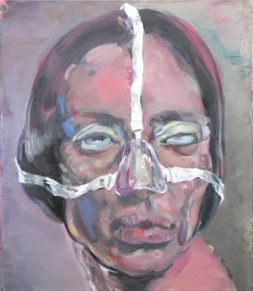 Simona Deflorin, 'Tigresse', 2012, Painting, Oil on Canvas, Lakeside Gallery